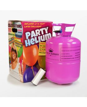 Bombona de helio grande para 50 globos